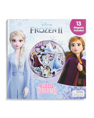 Frozen 2 Bubble Magnet Book