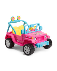 Ride On Barbie Jeep Wrangler