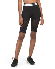 Perforated Bike Shorts