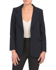 Parisian Crepe Notch Blazer