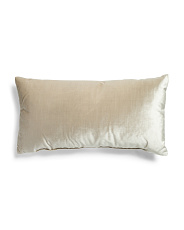 Made In Usa 14x26 Solid Velvet Pillow