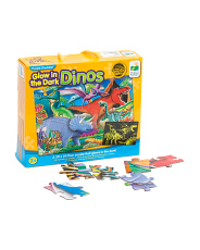 Doubles Glow In The Dark Dino Puzzle