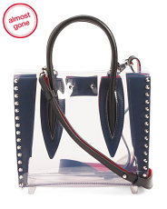 Made In Italy Paloma Mini Studded Tote