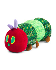 24in Eric Carle Very Hungry Caterpillar Hug Pillow