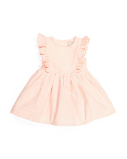 Baby Girl Button Back Dress