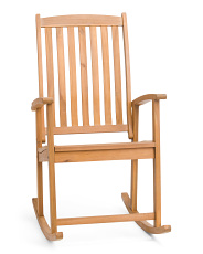 Acacia Outdoor Rocking Chair