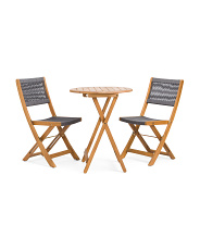 Acacia Outdoor Rope Bistro Set