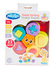 Shape Sorting Flower Puzzle