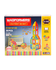 30pc My First Magnetic Construction Set