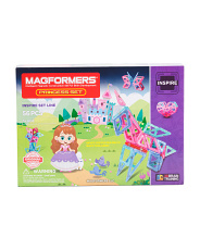 56pc Princess Magnetic Construction Set