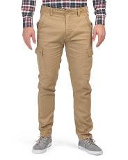 Stretch Drill Cargo Pants