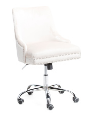Shep Velvet Office Chair