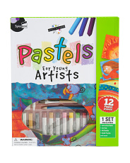 Petite Picasso Pastel Art Set For Kids