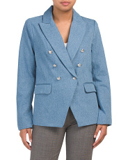 Contemporary Fit Double Breasted Blazer