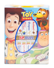 Toy Story My First Library 12 Board Book Set