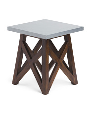 Antwerp Mango Wood Side Table