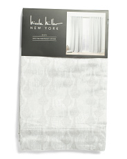 Set Of 2 Wilder Printed Faux Linen Curtains