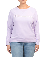 Plus Heritage French Terry Crew Neck Sweatshirt