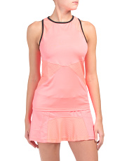 Tennis Angular Blocked Tank