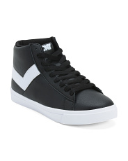 Classic Hi Leather Sneakers