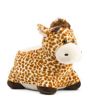 23in Plush Giraffe Chair