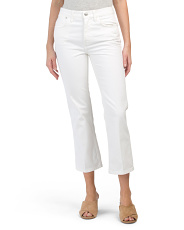 Vanessa High Rise Cropped Jeans