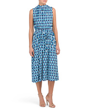 Mod Geo Mindy Midi Dress