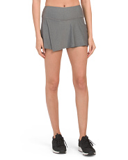 Made In Usa Let's Split Skort With Upf Protection