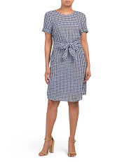 Sadie Linen Blend Dress