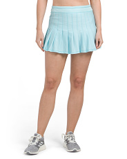 Tennis Long Retro Pleated Skirt