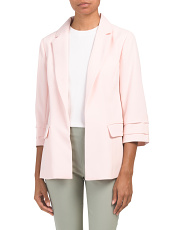 Moss Crepe Tailored Blazer