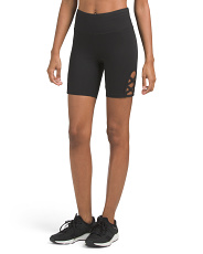 Lattice Side Bike Shorts
