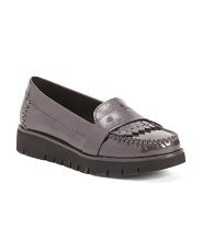 Comfort Patent Leather Casual Flats
