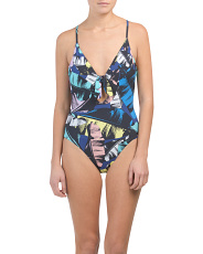 Neon Tropics One-piece Swimsuit