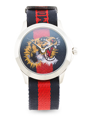 Swiss Made Le Marche Des Merveilles Embroidered Dial Watch