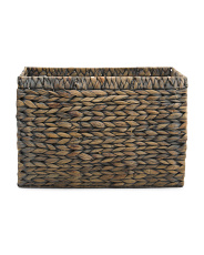 X-large Hyacinth Tapered Storage Basket