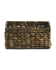 X-small Hyacinth Tapered Storage Basket