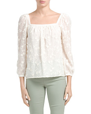 Kyla Embroidered Top