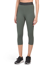 High Waist Icon Capri Leggings