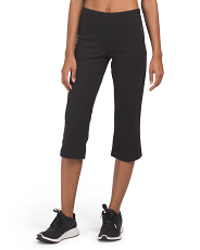 High Waist Sleek Active Fit Crop Pants