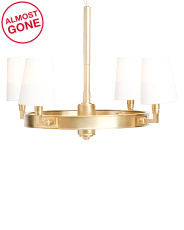 Watson Rubbed Antique Brass Small Chandelier