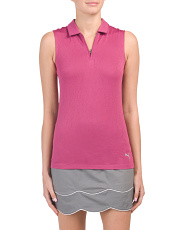 Jacquard Evoknit Moisture Wicking Golf Polo