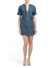 Dream On Denim Mini Dress