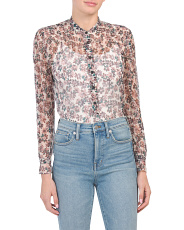 Susan Silk Blouse