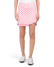 Tic Tac Toe Pull On Skort