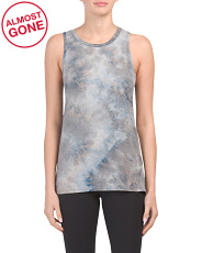 Tie Dye Peached Tunic Tank