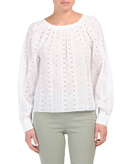 Holdena Long Balloon Sleeve Top