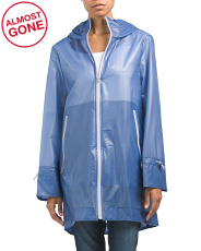 Montella Rain Coat With Hood