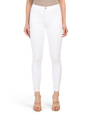 Made In Usa Alana High Rise Crop Skinny Jeans