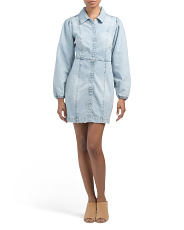 Mia Denim Mini Dress